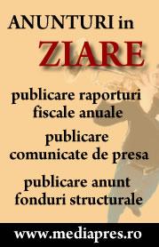 Anunturi fonduri structurale, publicare raporturi fiscale anuale Ziarul Financiar