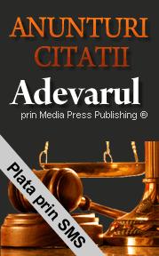 Publicati Citatii in ziarul Adevarul