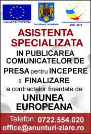Publicare Anunturi fonduri europene