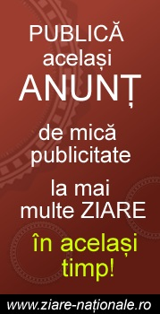 Anunturi in ziare nationale